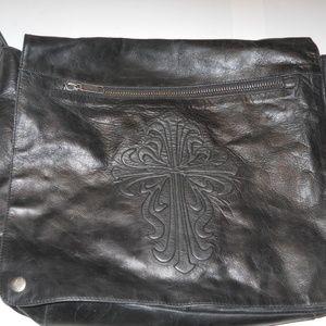 Wilsons Leather M. Julian Large black leather bag